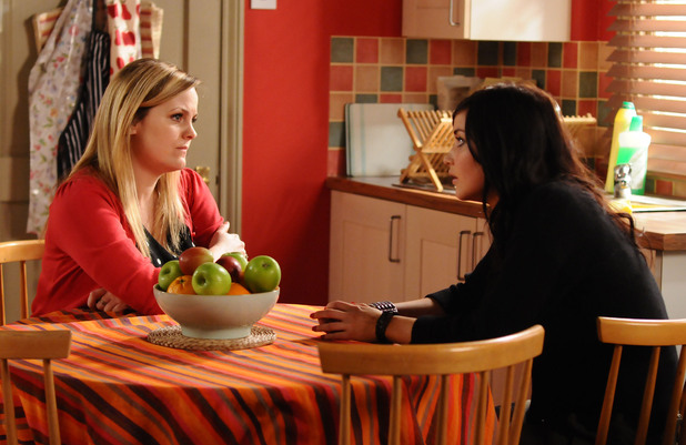 Tanya confides in Lauren she already fears getting sick again.