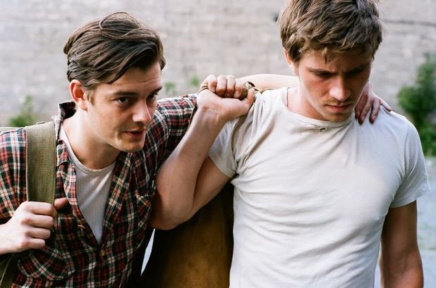 Sam Riley and Garrett Hedlund