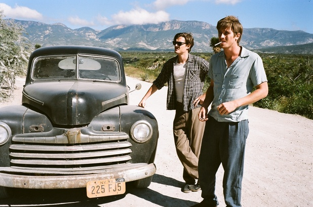 Sam Riley and Garrett Hedlund in On The Road