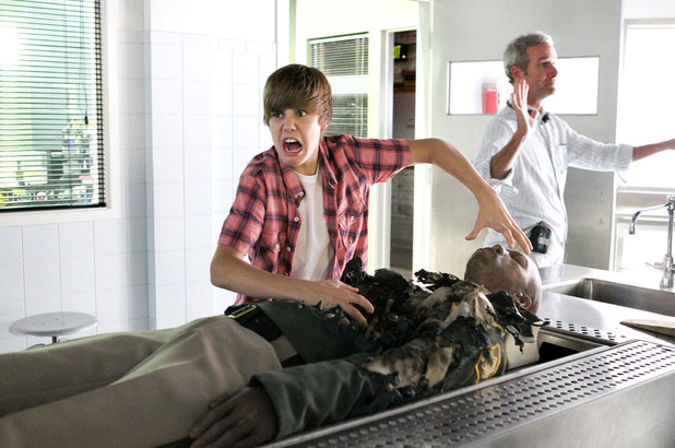 Justin Bieber no CSI: Crime Scene Investigation, September 2010