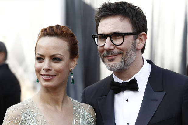 Oscars 2012 - Berenice Bejo and Michael Hazanavicius