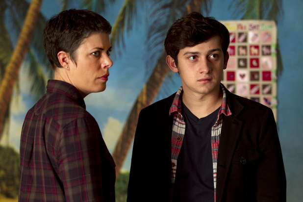 Yvonne (SELINA GRIFFITHS), Adam (CRAIG ROBERTS)