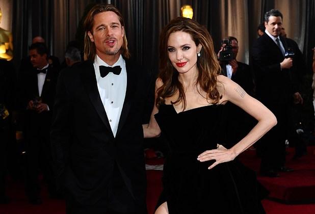 Bard Pitt, Angelina Jolie, Oscars 2012
