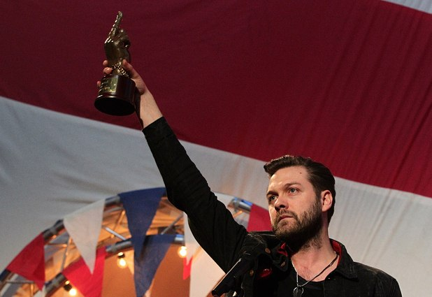 Tom Meighan, Kasabian, NME Awards 2012