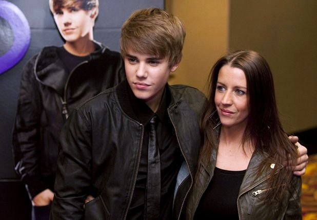 Justin Bieber and his mother Pattie Lynn Mallette at the 'Justin Bieber Never Say Never', Film Screening and Press Conference, Toronto, Canada - 01 Feb 2011