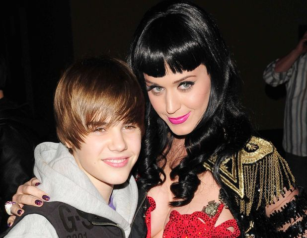 Justin Bieber and Katy Perry