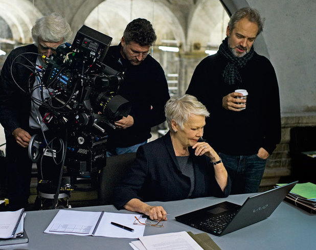 Sam Mendes and Judi Dench