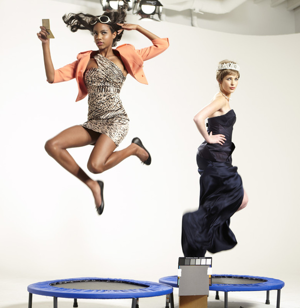 ANTM British Invasion Episode 1: Eboni and Ashley