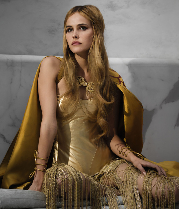 Isabel Lucas in Immortals
