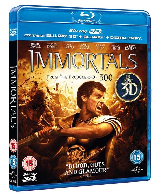 Immortals packshot