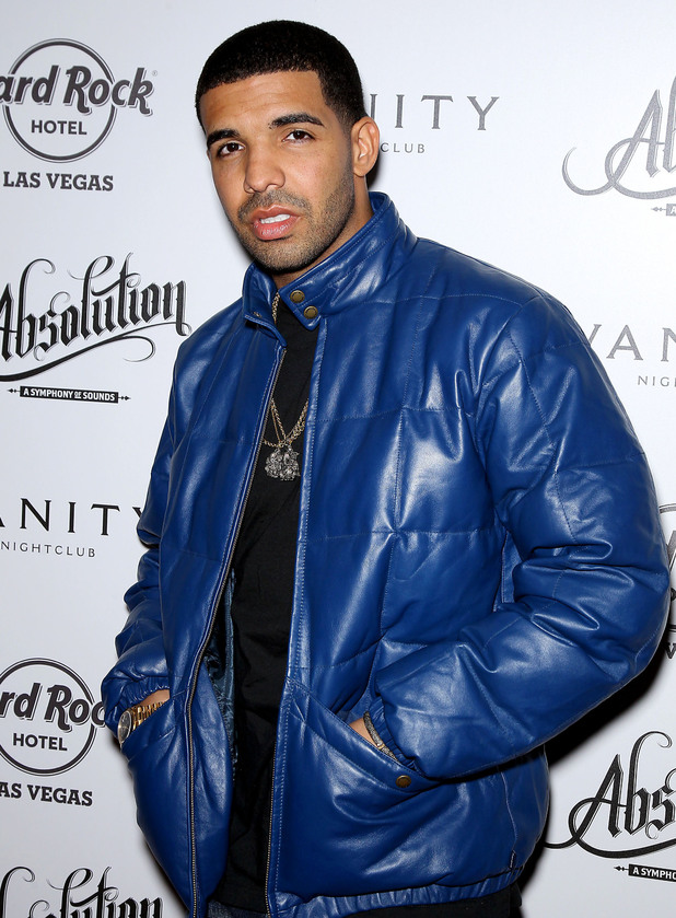 Drake Rapper Drake hosts After Concert Party at Vanity Nightclub at Hard Rock Hotel and Casino Las Vegas, Nevada