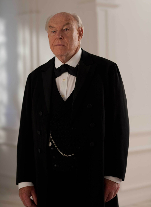 Lord Pirrie played by Timothy West