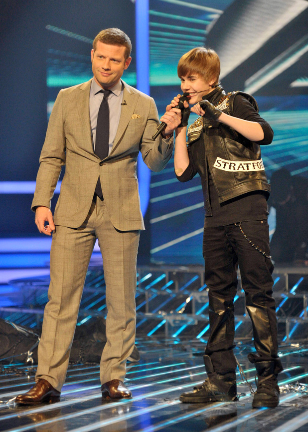 Justin Bieber on The X Factor