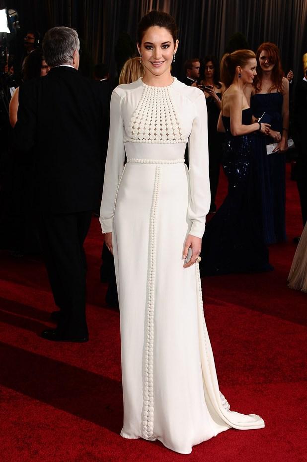 Shailene Woodley, Oscars 2012