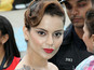 Fan breaks barrier to meet Kangana Ranaut