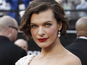 Milla Jovovich steals hotel tea set