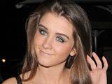 Brooke Vincent leaving Aura nightclub. London, England - 29.02.12