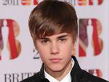 Justin Bieber at The Brit Awards, Press Room, O2 Arena, London, Britain - 15 Feb 2011