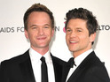 The How I Met Your Mother star denies allegations of a split on Twitter.