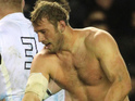 Rugby stud Chris Robsaw gets shirtless and dirty... Happy Friday!