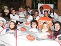 Hollyoaks' charity sleep-out for Centrepoint is completed successfully.