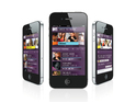 New iOS and Android app enables fans to watch shows and chat with friends.