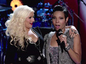 Hotel worker performed 'I'm Going Down' with Aguilera after blind audition.