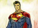 DC Comics offers a first look at Jim Lee's alternate universe Man of Steel.