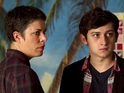 Adam (Craig Roberts) returns, with a succubus in tow, on Being Human.