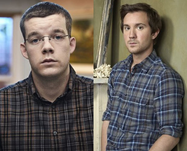 Russell Tovey and Sam Huntington