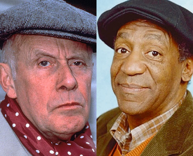 Richard Wilson and Bill Cosby
