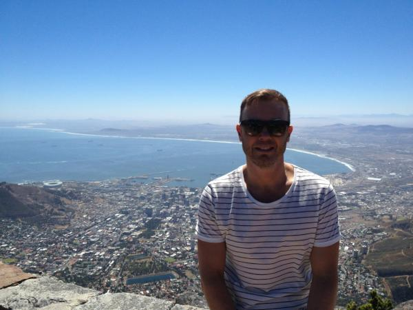 Gary Barlow in South Africa