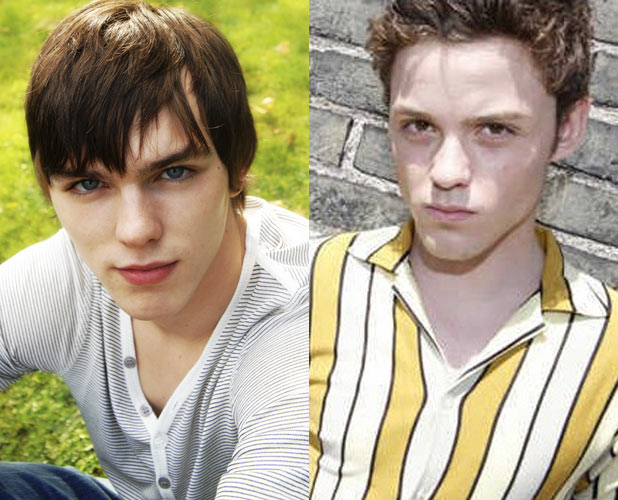 Nicholas Hoult and James Newman