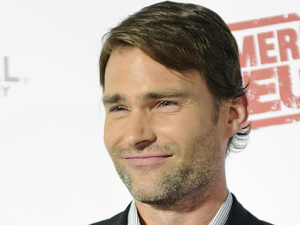 "Actor Seann William Scott from the cast of the movie ""American Reunion"" poses for photos before the Australian premiere in Melbourne"