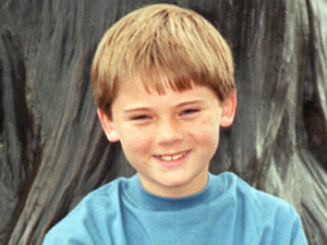 Young actor Jake Lloyd, who plays Anakin Skywalker 