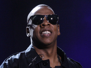 Jay-Z performs onstage at the Wireless Festival