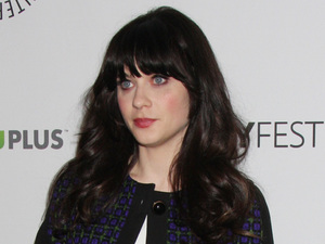 Zooey Deschanel 'New Girl' event at PaleyFest 2012 at Saban Theatre Los Angeles, California, USA