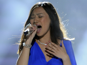 American Idol - Season 11 - The Top 13 - Jessica sanchez performs