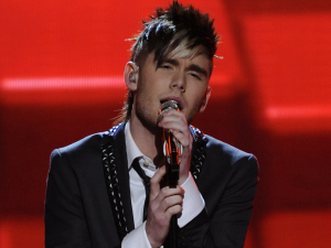American Idol - Season 11 - The Top 13 - Colton Dixon performs