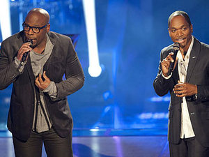 The Voice - Battle Round - Jesse Campbell v Anthony Evans