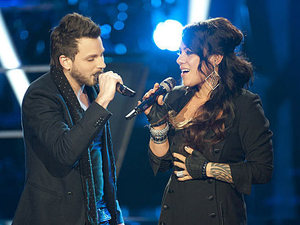 The Voice - Battle Round - Jordis v Brian Fuente