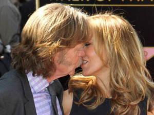 Felicity Huffman and her husband William H. Macy