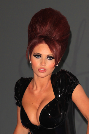 Amy Childs launches her eyelashes range at the Professional Beauty 2012 show London, England