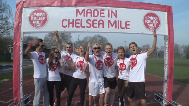 Made in Chelsea cast for Sport Relief