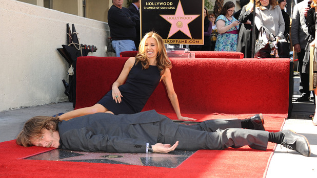 William H Macy, Felicity Huffman, Star on the Hollywood Walk of Fame