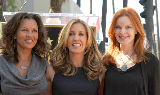 Vanessa Williams, Felictiy Huffman, Marcia Cross