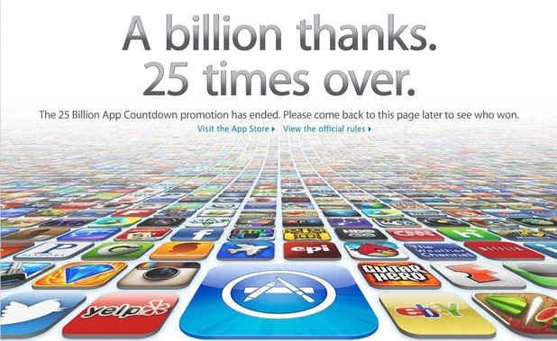 App Store billion thanks