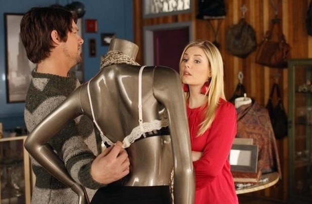Elisha Cuthbert, Zachary Knighton, Happy Endings