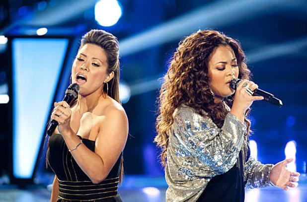 The Voice - Battle Round - Cheesa v Angie Johnson