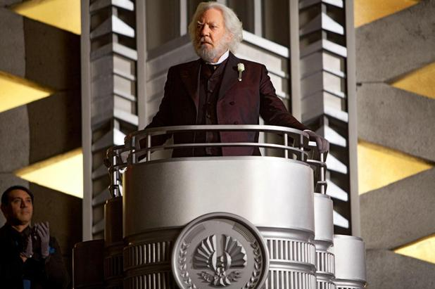 The Hunger Games's President Snow (Donald Sutherland)